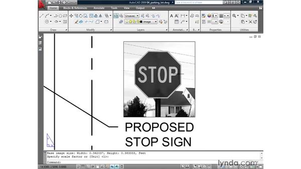 Clipping images: AutoCAD 2009: Mastering References
