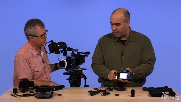 Managing cables: Mirrorless 4K Cameras for Video Production