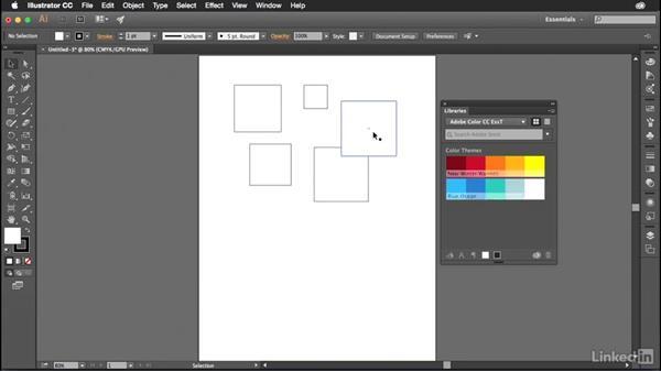 Using Adobe Color in Illustrator CC: Adobe Color Essential Training