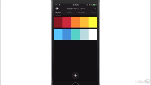 Exploring the Adobe Capture mobile app: Adobe Color Essential Training