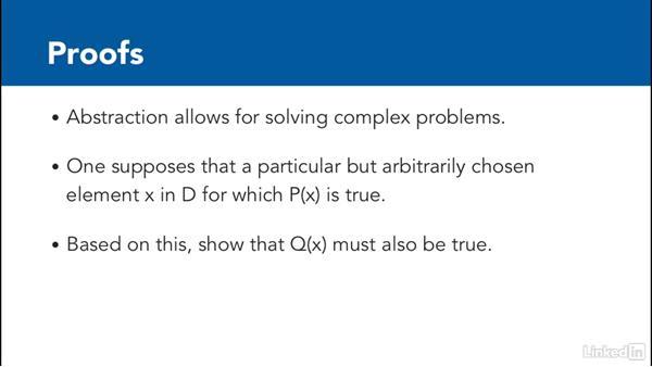 Abstract discrete math: Foundations of Programming: Discrete Mathematics