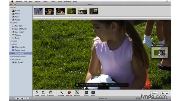 Working with the enhanced editing tools: iLife '09 New Features