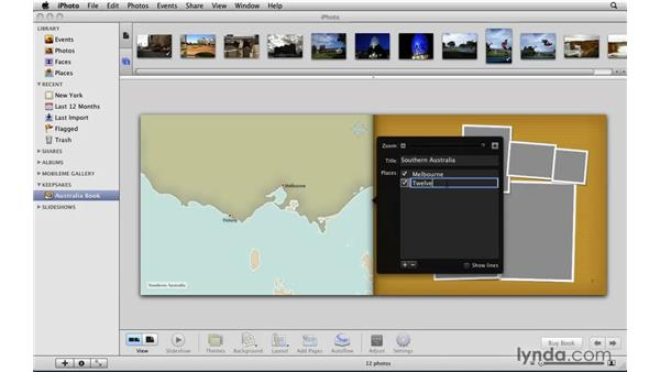 Building travel maps: iLife '09 New Features