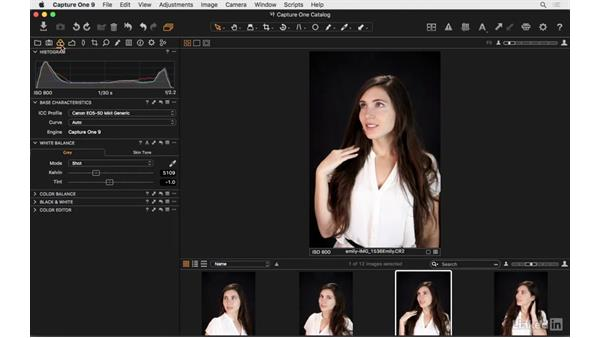 Explore the Capture One user interface: Capture One Pro 9 Essential Training