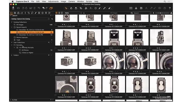 Set up a group: Capture One Pro 9 Essential Training