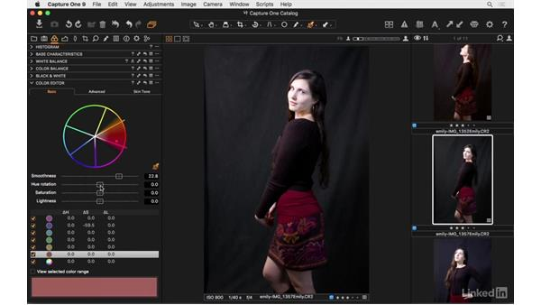 What is the Color Editor?: Capture One Pro 9 Essential Training