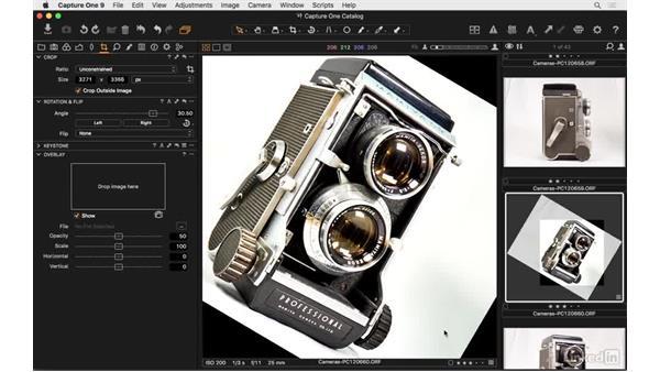 Apply Rotation & Flip: Capture One Pro 9 Essential Training