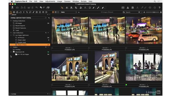 Lightroom catalog import review: Capture One Pro 9 Essential Training