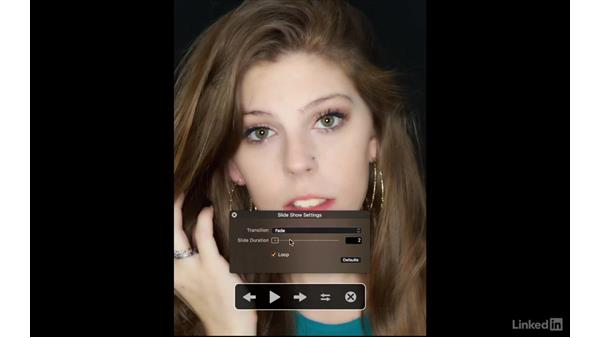 Play a slide show: Capture One Pro 9 Essential Training