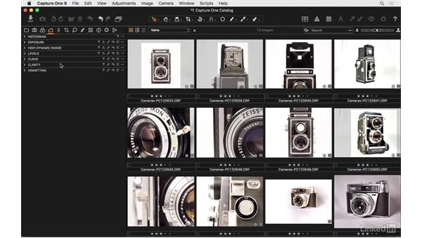 Customize your user interface: Capture One Pro 9 Essential Training