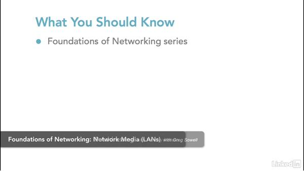 What you should know: Foundations of Networking: Network Media (WANs)