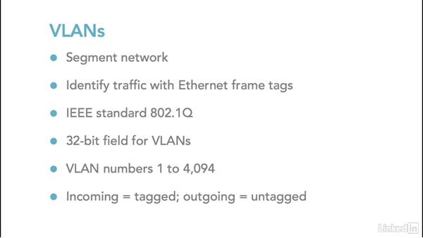 VLANs: Foundations of Networking: Network Media (WANs)