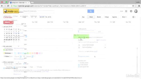 Welcome: Google Calendar Essential Training