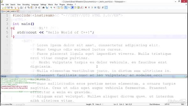 Welcome: Notepad++ For Developers