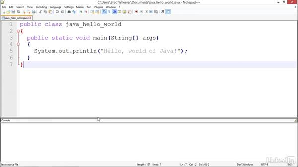 Developing with Java: Notepad++ For Developers