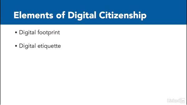 What is digital citizenship?: Digital Citizenship