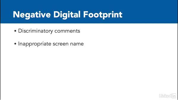 Avoid a negative digital footprint: Digital Citizenship