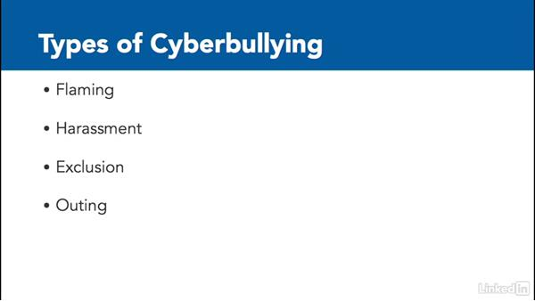 Address cyberbullying: Digital Citizenship