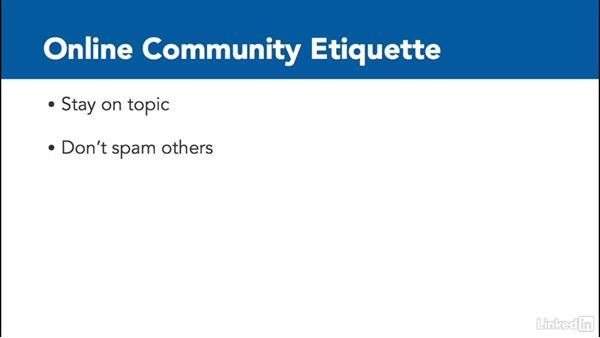 Join an online community: Digital Citizenship