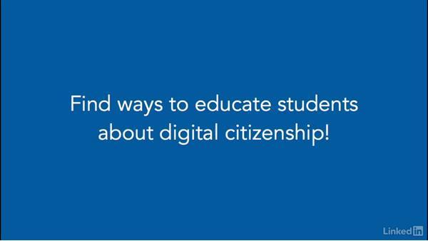 Next steps: Digital Citizenship