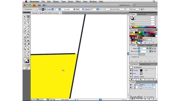 Detecting gaps in Live Paint groups: Illustrator CS4 Beyond the Basics