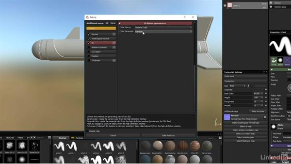 Set up baking parameters: Game Art: Asset Texture Pipeline
