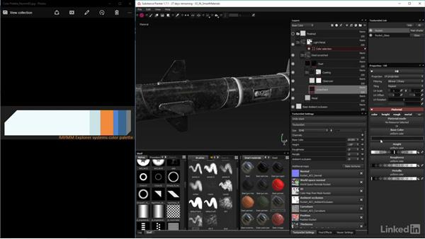 Apply textures with materials and smart materials: Game Art: Asset Texture Pipeline