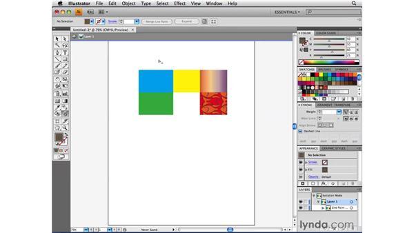 Understanding how Live Paint groups work: Illustrator CS4 Beyond the Basics
