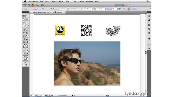 Setting expectations: Live Trace: Illustrator CS4 Beyond the Basics