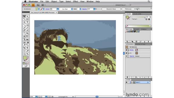 Adjusting colors in Live Trace: Illustrator CS4 Beyond the Basics