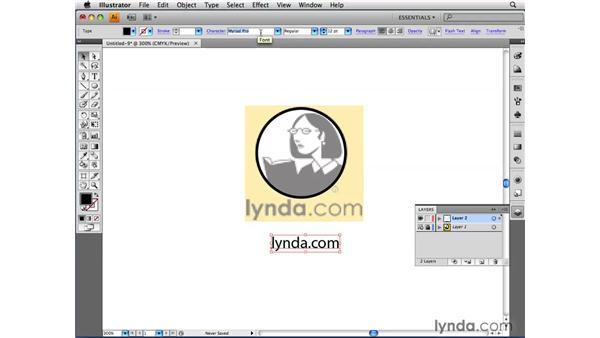 Tracing an image manually: Illustrator CS4 Beyond the Basics