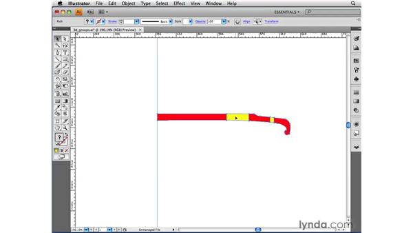 Understanding the importance of 3D and groups: Illustrator CS4 Beyond the Basics