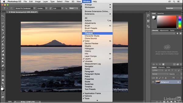 Explore Photoshop's workspaces: Customize Photoshop: A Practical Approach