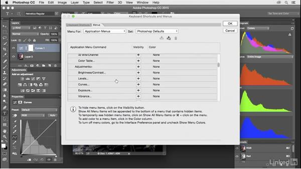 Customize Photoshop's menus: Customize Photoshop: A Practical Approach