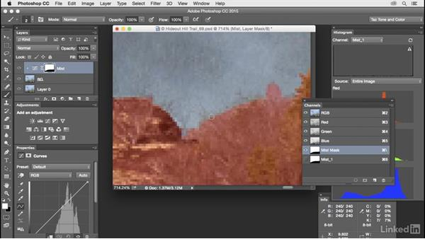 Use Channels, Masks, Layers, and Properties panels: Customize Photoshop: A Practical Approach