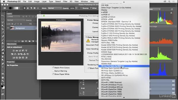 Set up and use hard proofing: Customize Photoshop: A Practical Approach