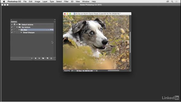 Create actions: Customize Photoshop: A Practical Approach