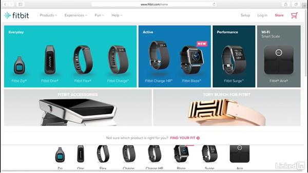 A look at the Fitbit product lineup: Up and Running with Fitbit
