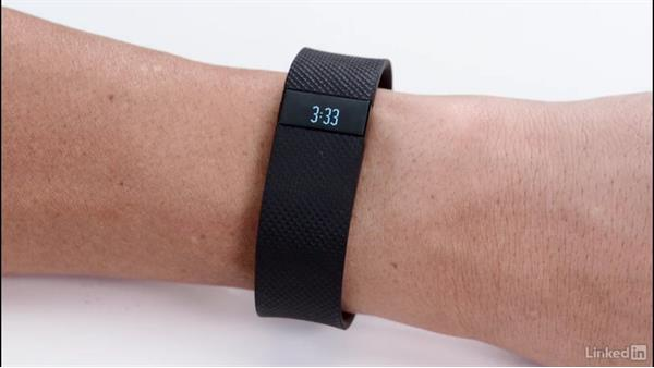 Setting and modifying goals for the Fitbit Charge HR: Up and Running with Fitbit