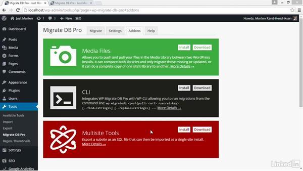 Install the Media Files addon: Moving WordPress with WP Migrate DB and DB Pro