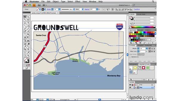 Applying graphic styles: Illustrator CS4 Beyond the Basics