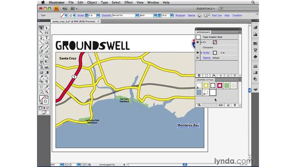 Understanding graphic styles for text: Illustrator CS4 Beyond the Basics