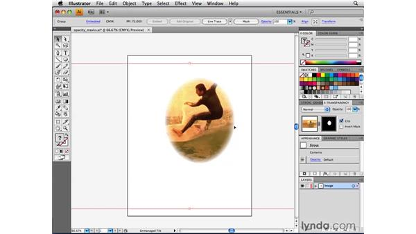 Creating opacity masks: Illustrator CS4 Beyond the Basics