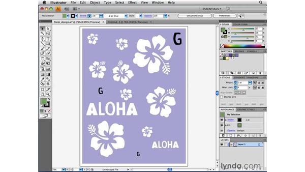 Managing color groups: Illustrator CS4 Beyond the Basics