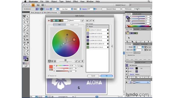 Understanding the HSB color wheel: Illustrator CS4 Beyond the Basics