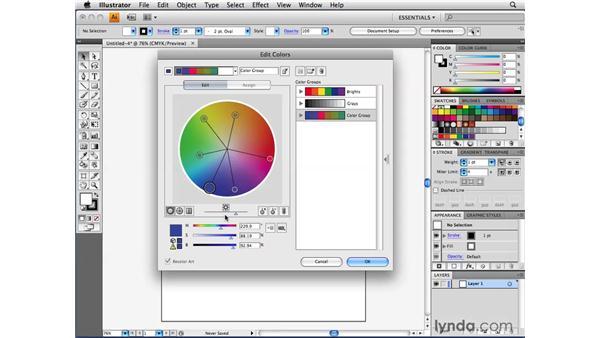 Understanding color harmonies: Illustrator CS4 Beyond the Basics