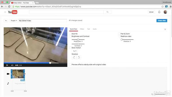Editing videos with YouTube: Teaching Future-Ready Students