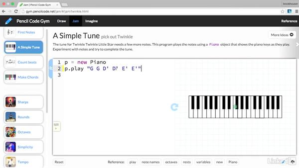 Make music with Pencil Code: Teaching Future-Ready Students