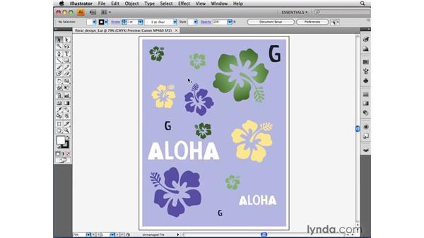 Simulating artwork on different devices: Illustrator CS4 Beyond the Basics