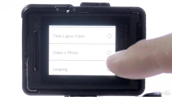 Using the LCD Touch BacPac or built-in screen: GoPro HERO and Session Fundamentals